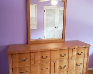 Stanley Furniture Dresser with Mirror https://ctbids.com/#!/description/share/209017
