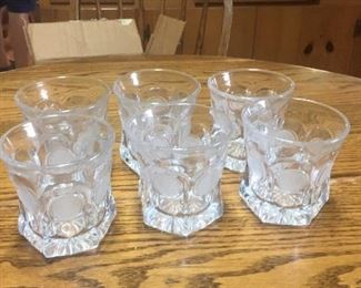 Coin Glass high ball glasses