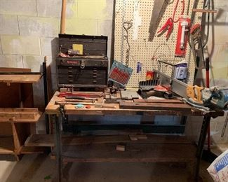 Work bench given to an apprentice of Henry Ford by Henry Ford