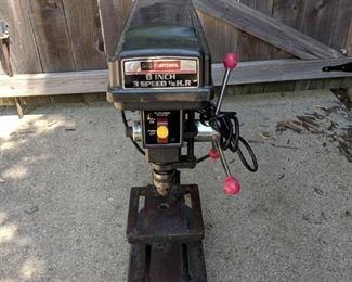 Craftsman drill press 1/6 horse power
