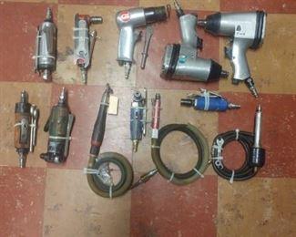 Air tools, impacts, pencil grinders, ratchets, drills
