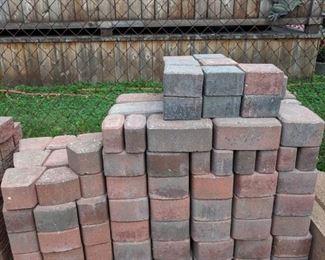 Brick pavers unilock for circles.