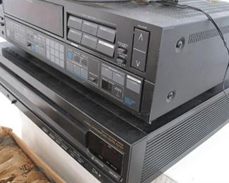Kenwood receiver & Sony CD.