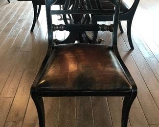 "One of four ""Councill"" New Orleans dining chairs"