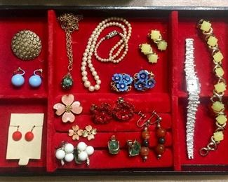 Vintage Earrings, Bracelets