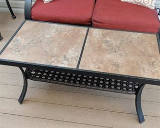 Nice patio coffee table