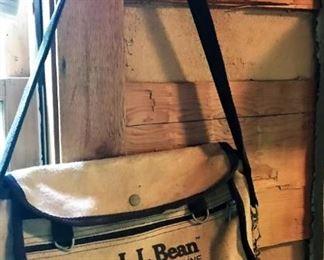 Vintage L. L. Bean Arcticreel fishing bag/creel