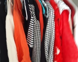 Lots of designer and casual clothes and some hsite culture ones offs..prices range from 25 cent to $1200