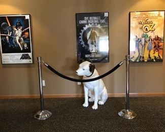 Nipper & Movie Posters
