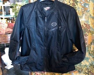 HARLEY DAVIDSON Lightweight Ladie's Jacket, Size Large