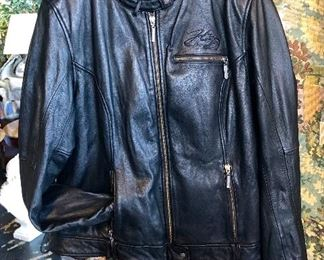 HARLEY DAVIDSON Genuine Leather Jacket, Ladie's Size XL in Excellent Condition