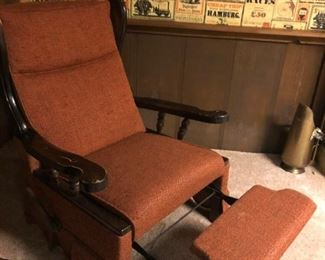 Nice old fashioned recliner chair