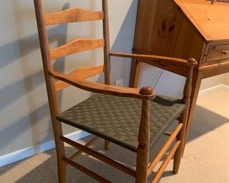 Ladder Back captains chairs