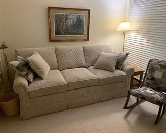 Sofa bed. Super soft Corduroy
