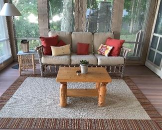 Old Hickory rustic sofa