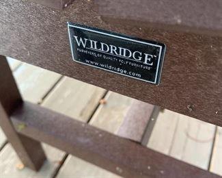 Wildridge Benches