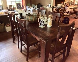 Farm Table & Chairs