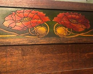 1910 Liberty & Company Arts & Crafts Oak Folding Screen/Room Divider