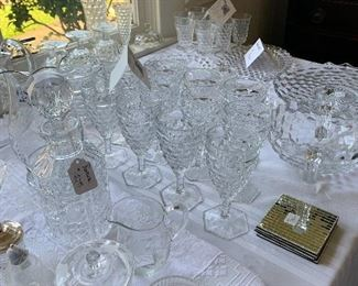 America by Fostoria  and more beautiful crystal, cut glass, pressed glass and more