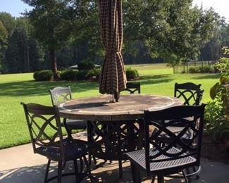 Heavy duty nice patio set
