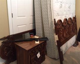 vintage full bedroom suite