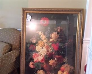 huge floral print