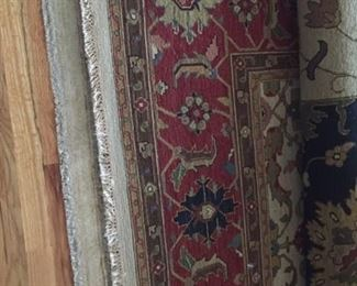 Beautiful large rugs from smoke free pet free home!  Excellent condition