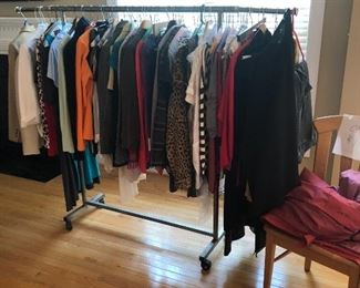 Rack of clothes - $1 each