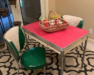 MCM Retro Table and Chair Set