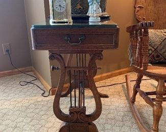 Antique Music Table by Fine Arts Furniture Co Grand Rapids
