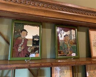 Oriental Reverse Mirror Paintings