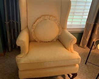 Custom Upholstered Sitting Chair