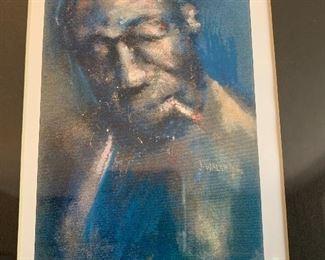 "Original ""Blues"" art by J Walsh"