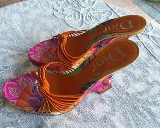 Dior shoes size 6 to 7