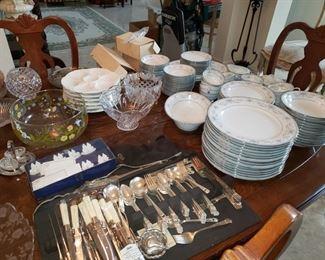 Silve plate flatware china