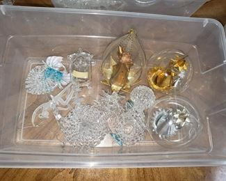 blown christmas ornaments italian