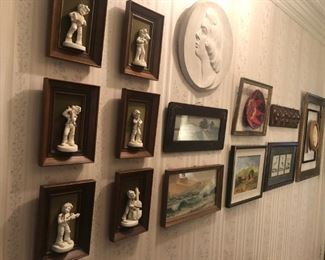 Art & wall decor throughout the house