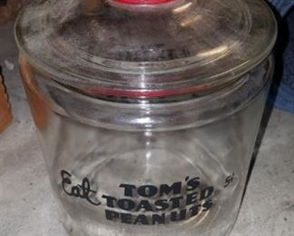 Vintage Tom's jar great condition