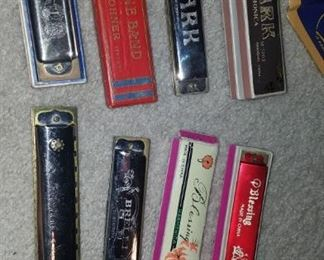 Harmonica collection