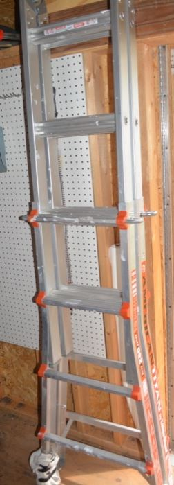Aluminum Folding Ladder, nice