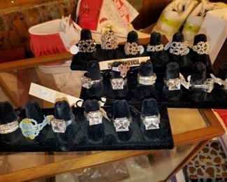 Boutique rings