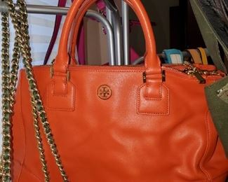 Tory Burch leather