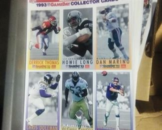 McDonald's Game Day collector cards.  Many available