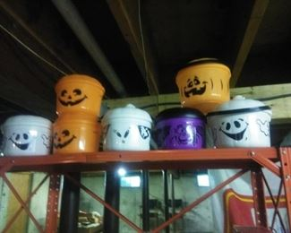 Collectable Halloween candy baskets