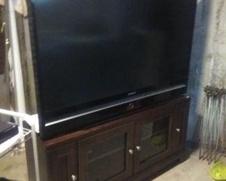 Huge Samsung television