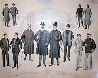 Tegtmeier Tailors & Clothier, Millstadt Illinois Fashion Prints