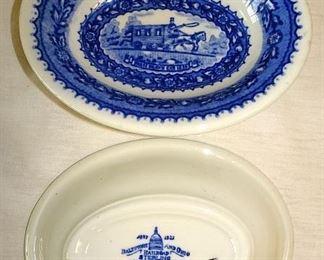 Baltimore & Ohio Railroad Dishes