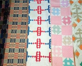 Hand Made Quilts, Coverlet