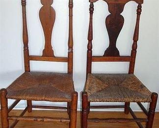 Period Queen Ann Chairs