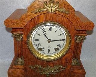 Oak Seth Thomas mantle Clock